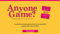 Anyone Game? For Adults, Friends & Family By Laura Plant […]