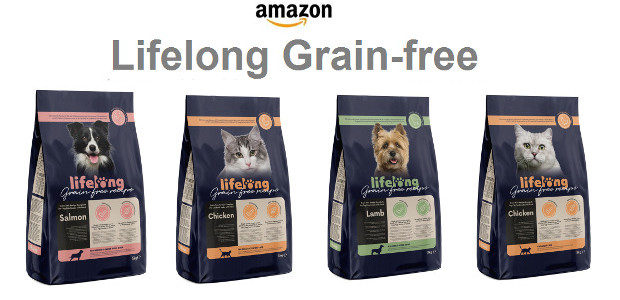 Lifelong Grain-free Amazon.co.uk launch NEW grain free range of dog […]