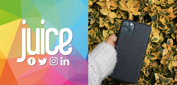 Just launched! 100% compostable phone case from juice® mobile phone […]