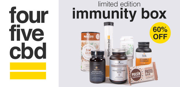 'The Immunity Box' by fourfivecbd: immune boosting products delivered to […]