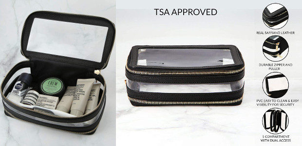 The Global Commuter… a functional yet stylish toiletry case. www.amazon.com/TSA-APPROVED-TOILETRY-COSMETIC-BAG/dp/B07YHDT35F […]