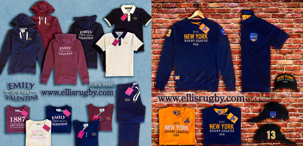 THE LADIES VINTAGE RUGBY BRAND & NEW YORK RUGBY LEAGUE […]