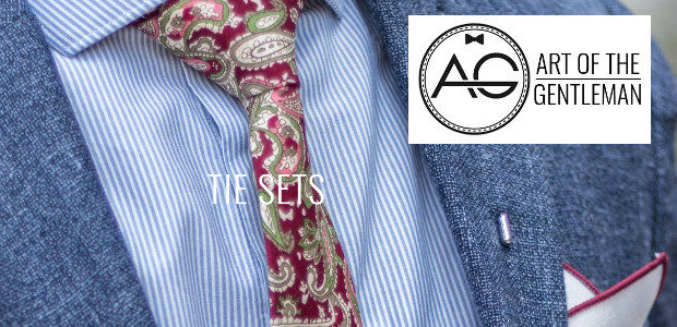 Art of The Gentleman www.artofthegent.com Tie Sets which are such […]