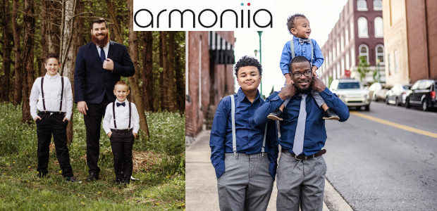 So Exciting! Armoniia have these awesome father and son matching […]