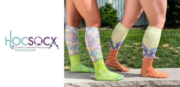 Hocsocx Whimsical Performance Socks and Liners www.hocsocx.com Hocsocx is a […]