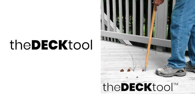 The Decktool (www.thedecktool.com) Makes it very easy to clear debris […]