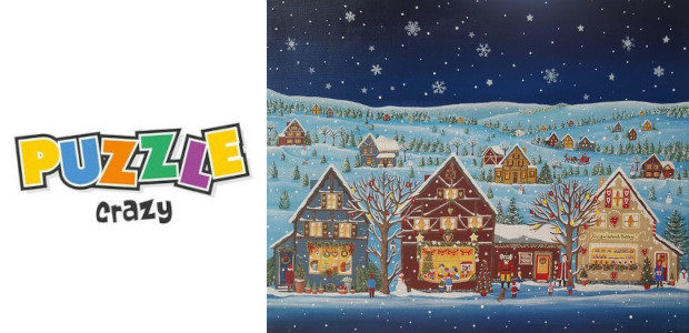 Puzzle Crazy…. Look At This Little Christmas Scene… Ginger Bread […]