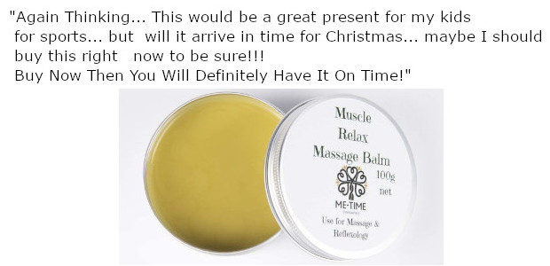 The Muscle Relax Massage Balm|Reflexology Balm is ideal for body […]