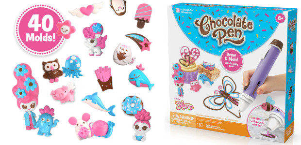 Get Creative with the New Chocolate Pen! From Skyrocket Toys. […]