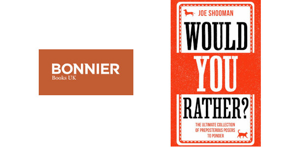 Would you Rather? By Joe Shooman 15th October, Hardback and […]