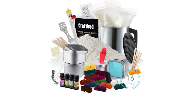 CraftBud Candle Making Kit – 52 Pieces Soy Candle Making […]