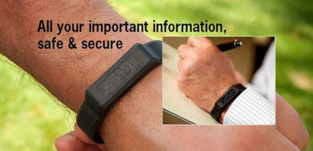 SelfSafe is stylish, sporty USB emergency identification bracelet that holds […]