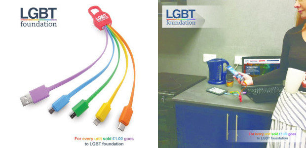 """Available Now ! LGBT Foundation """"products-with-a-purpose"""" LGBT Foundation Universal 5-in-1 […]"""