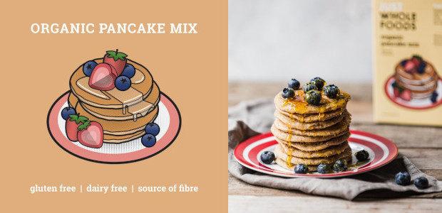 Just Wholefoods New Pancake Mixes | justwholefoods.co.uk Both mixes are […]