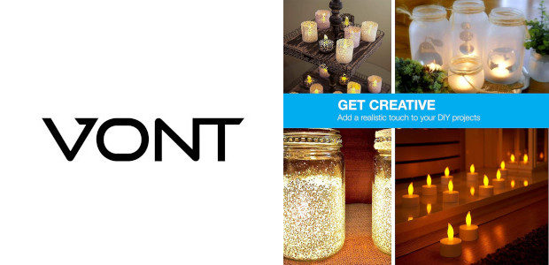 VONT LED Tealights Candles.. Lets Make Mother's Day Magical! vont.com/product/led-flameless-tealight-candles/ […]