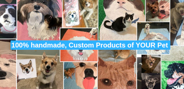 Ideal gift for pets and Pet Parents at MyPetPrints.co and […]