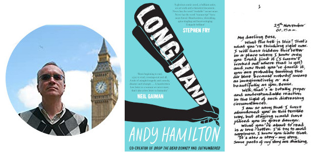 Longhand Paperbackby Andy Hamilton This novel by comedy legend Andy […]