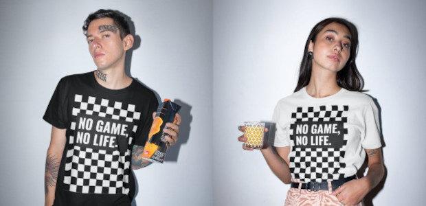 No game no life checkerboard unisex tee   etsy StudioSNou […]