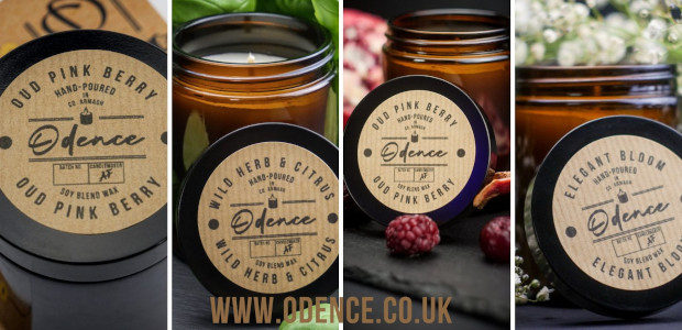 """""""Odence vegan-friendly, cruelty-free, hand-poured, soy wax blend candles, are delicately, […]"""