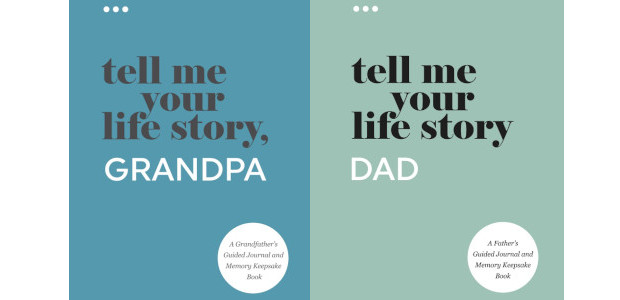 Tell Me Your Life Story, Grandpa: A Grandfather's Guided Journal […]