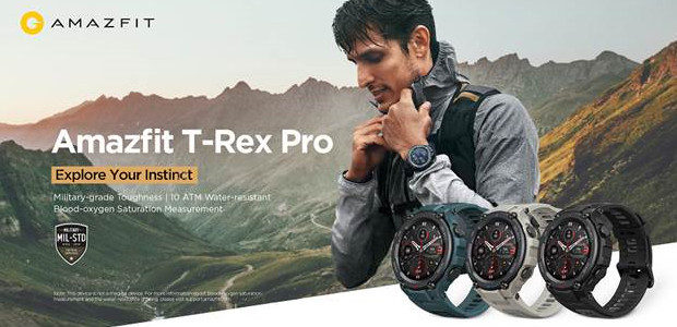 Amazfit T-Rex Pro: A Tough Military-grade Smartwatch with Endurance to […]