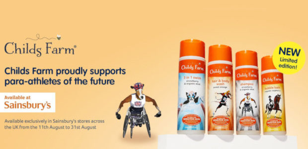 LIMITED EDITION RANGE FROM CHILDS FARM TO SUPPORT OUR PARA-ATHLETES […]