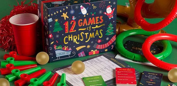 GAME: 12 Games of Christmas – 12 Hilarious Festive Games […]