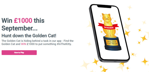 Find the Golden Cat for your chance to win £1000 […]