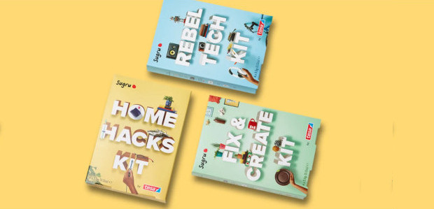 Sugru Starter Kits for DIY Cool Cats 35 projects and […]