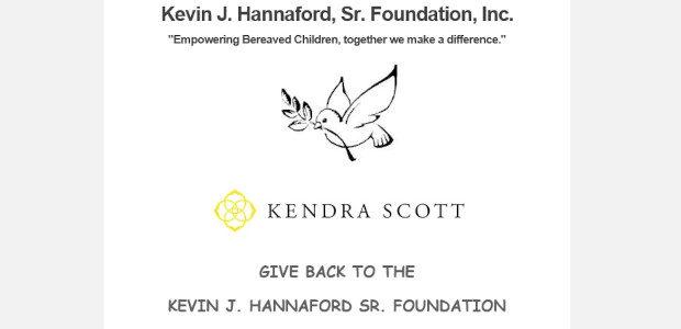 SUPPORT The KEVIN J. HANNAFORD SR. FOUNDATION >> Via Kendra […]