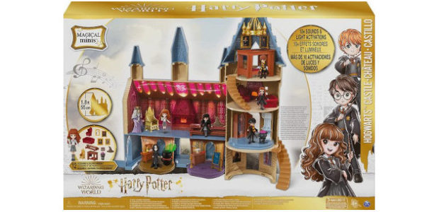 Wizarding World Magical Minis Hogwarts Castle with 12 Accessories, Lights, […]