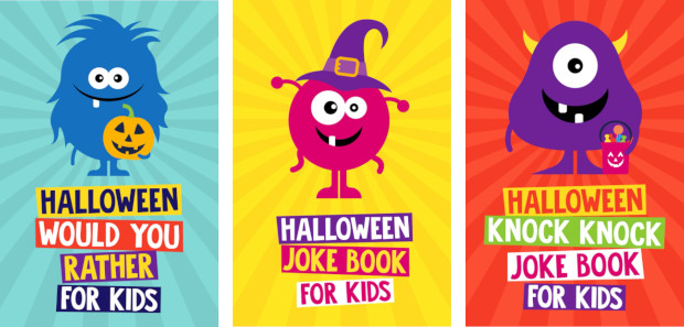 The Halloween Joke Books for Kids series by Riddles & […]