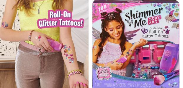 Cool Maker Shimmer Me Body Art with Roller, 4 Metallic […]