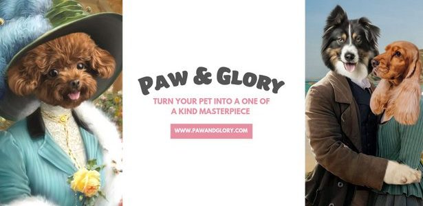 PET PORTRAITS FROM PAW & GLORY – THE PERFECT CHRISTMAS […]